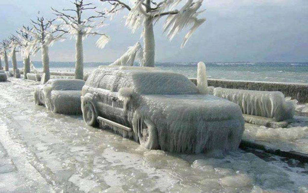 Негативное влияние мороза.