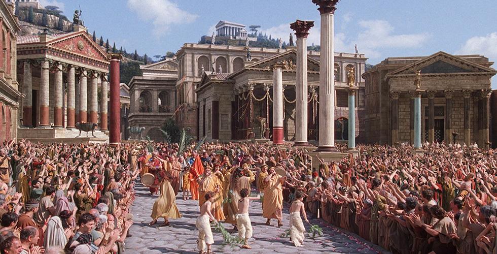 Бетон во времена Римской империи