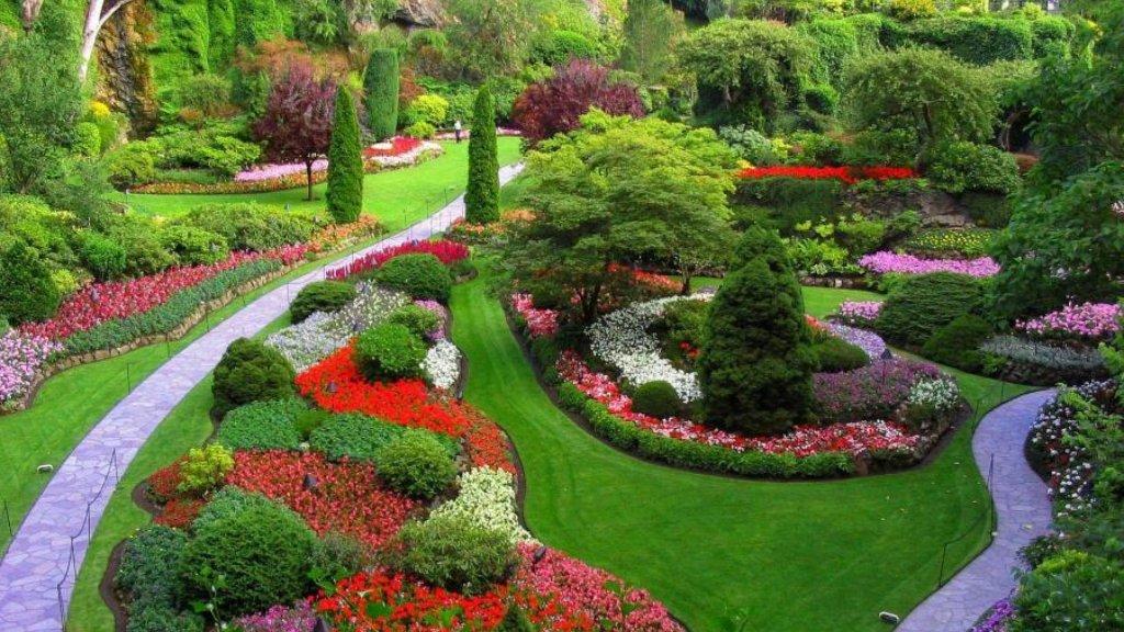 Ландшафтный дизайн позволяет создать неповторимый стиль на любом участке земли