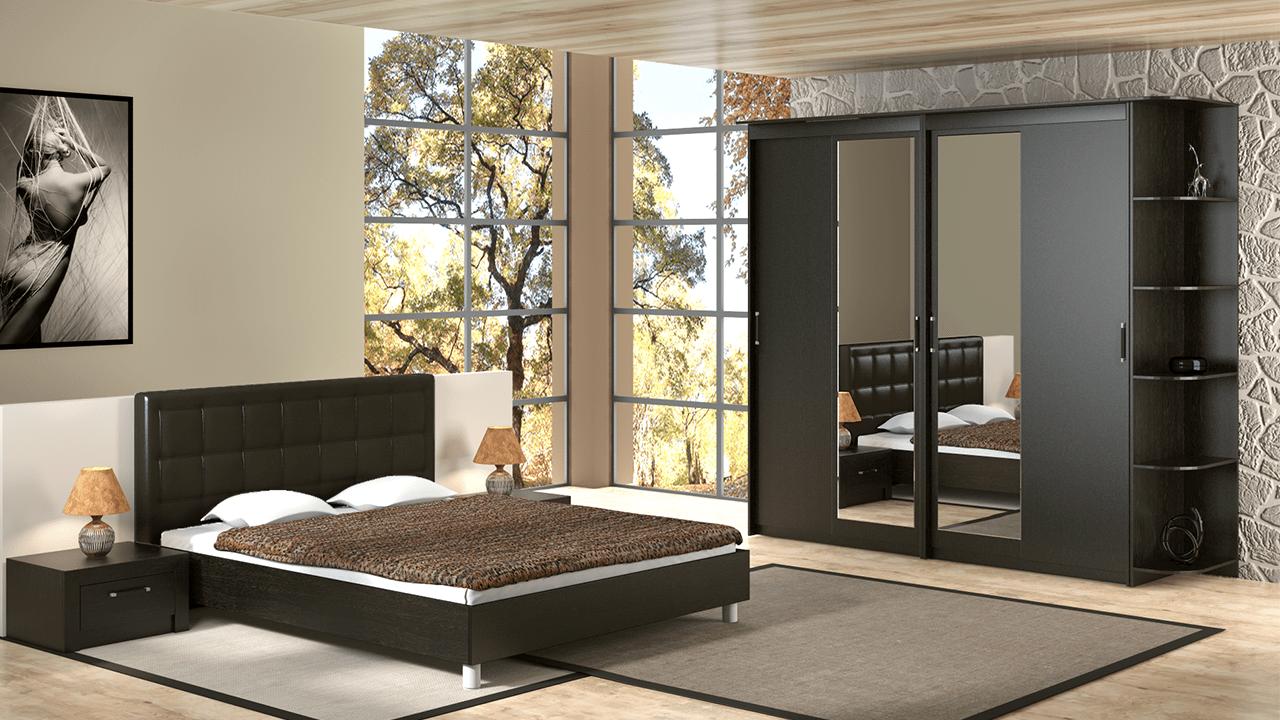 Обустройство спальни: минимальный комплект мебели
