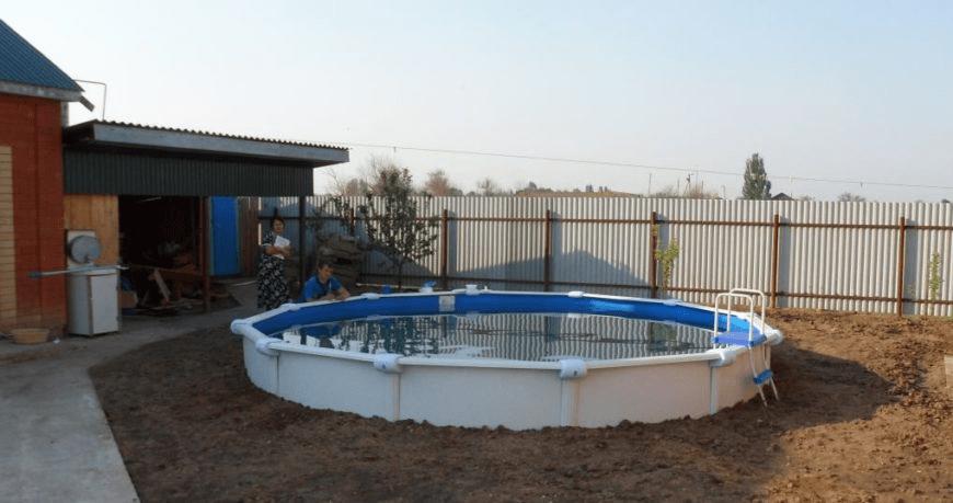 Выбираем каркасный бассейн для дачи: практические советы