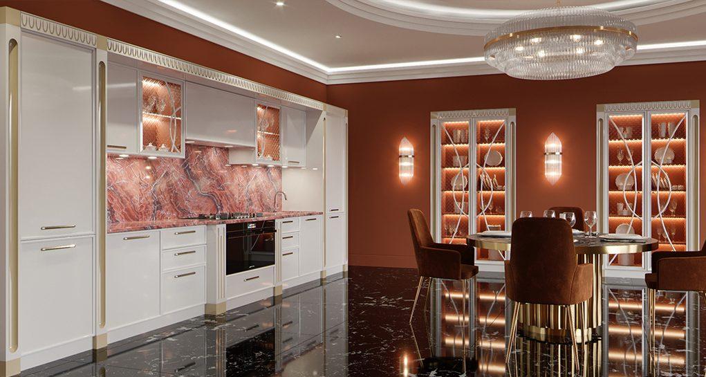 Эстетика и практичность: кухни на заказ по индивидуальному проекту