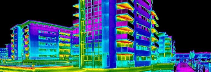 Тепловизионный анализ строения