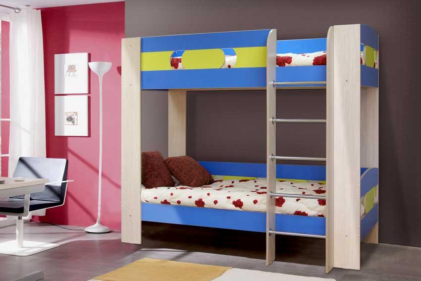 За что дети так любят двухъярусную кровать?