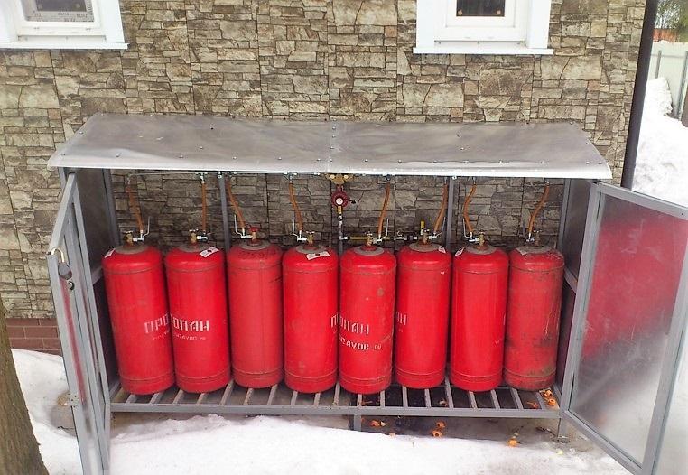 Газовое отопление на баллонах