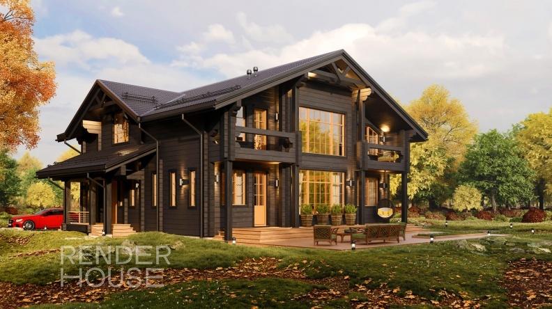 Строительство домов по индивидуальным проектам