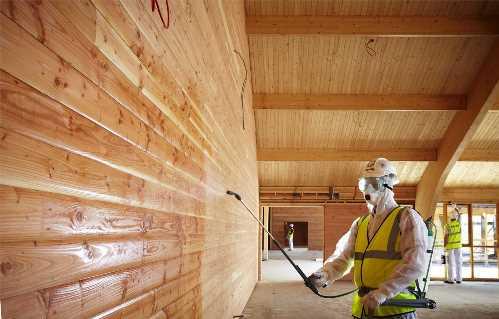 Виды и преимущества огнебиозащитных средств обработки древесины