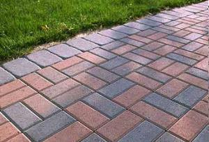 Покрытие тротуарной плиткой