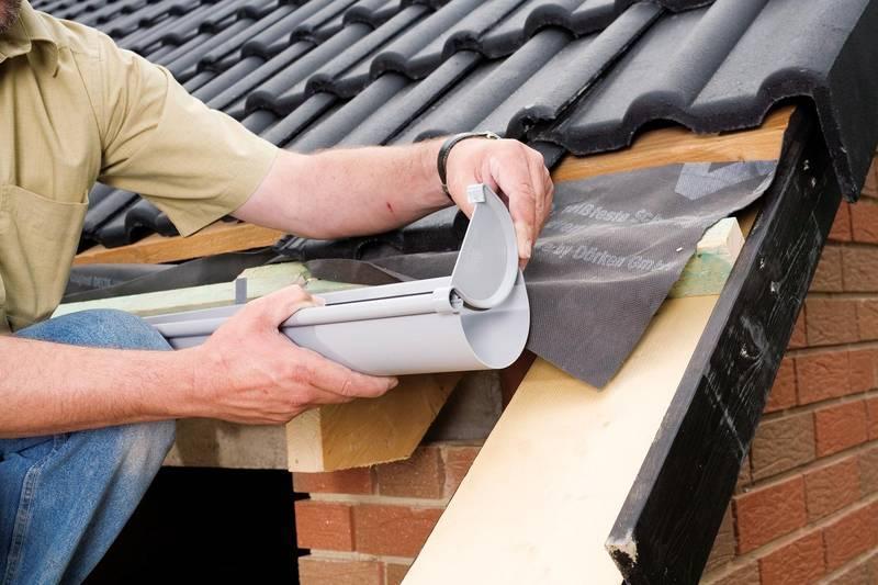 Инструкция по монтажу водосточной системы для малоэтажного строительства