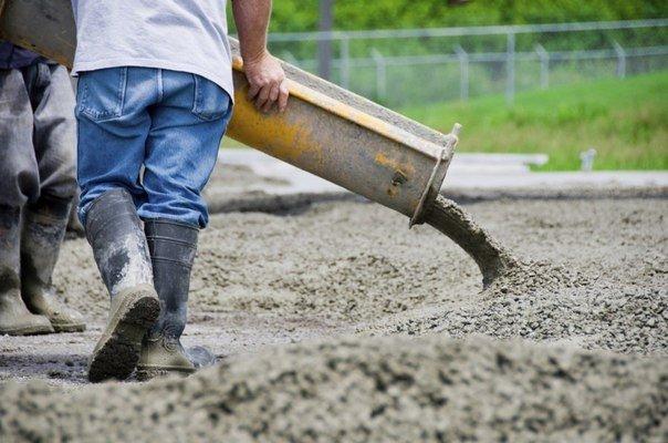 Роль воды в бетонных смесях