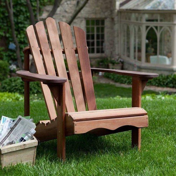 Садовое кресло «Адирондак» .