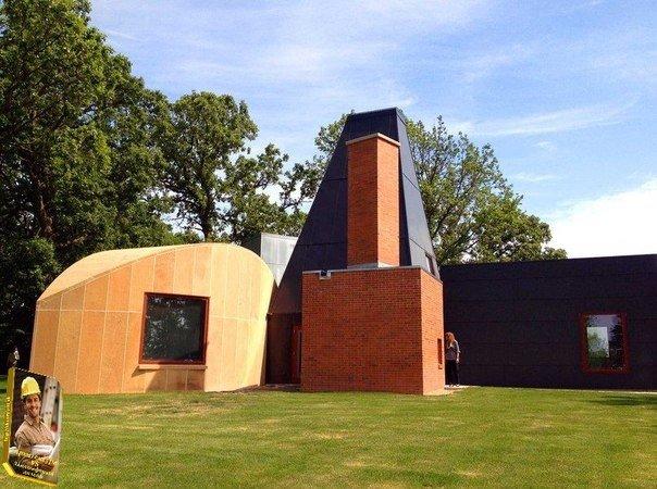 УИНТОНОВСКИЙ ДОМИК ДЛЯ ГОСТЕЙ (WINTON GUEST HOUSE) - Уайзета, Миннесота, США; 1983–1987