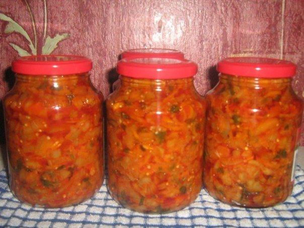 Овощную солянку, или смесь овощей, можно заготовить и на зиму.